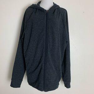 LULULEMON Full Zip Dark Gray Hooded Jacket